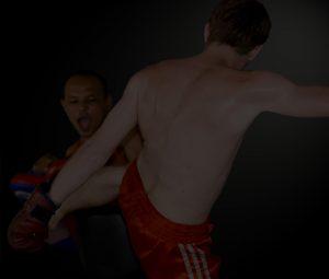 Thai Kick Boxing-Black