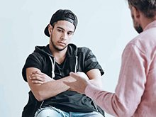 psychotherapy young men